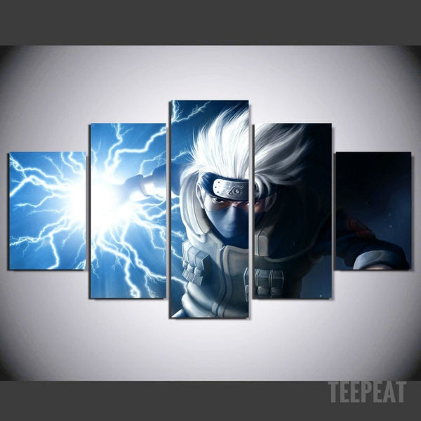Kakashi Painting 5 Piece Canvas Empire Prints