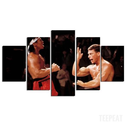 Final Fight Painting - 5 Piece Canvas-Canvas-TEEPEAT