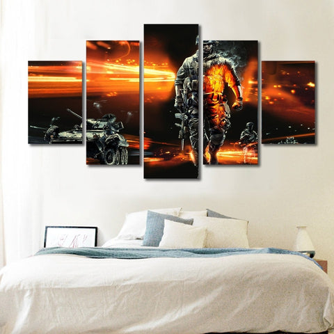 Modern Soldier - 5 Piece Canvas LIMITED EDITION - The Nerd Cave - 4
