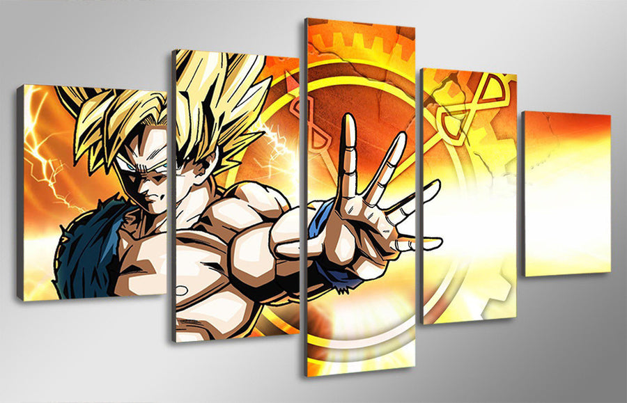 XENOVERSE - 5 Piece Canvas Painting