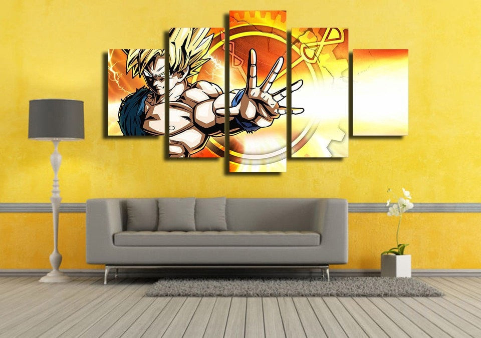 XENOVERSE - 5 Piece Canvas Painting-Canvas-TEEPEAT