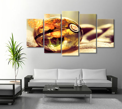 Natsu Ball Painting - 5 Piece Canvas-Canvas-TEEPEAT
