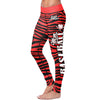 Baseball Mom Striped Leggings