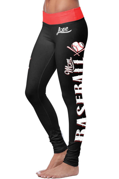 Baseball Mom Classic Leggings