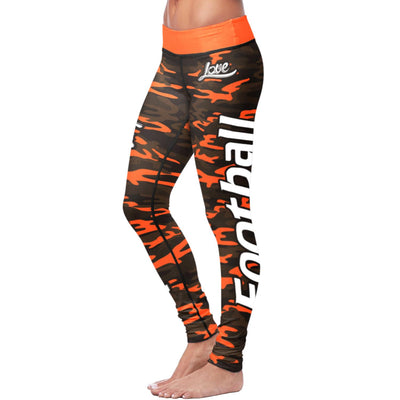 Cleveland Football Camo Leggings