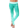 Love Nursing Teal Leggings
