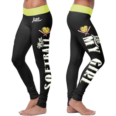 Softball Mom Leggings