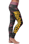 Washington Football Camo Leggings
