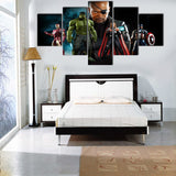 The Avengers - Nick Fury 5 Piece Canvas LIMITED EDITION - The Nerd Cave - 2