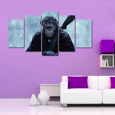 Rise of the Planet of the Apes - 5 piece canvas