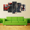 Itachi Painting - 5 Piece Canvas