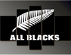 All Blacks - 5 Piece Painting