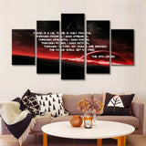 Sith Creed Painting - 5 Piece Canvas