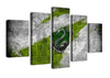 Snake Scenery - 5 Piece Canvas Painting