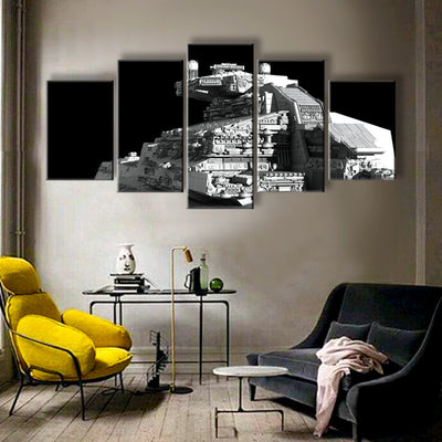 Star Wars: Imperial Star Destroyer - 5 Piece Canvas Painting