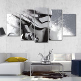 Imperial Stormtrooper Painting - 5 Piece Canvas