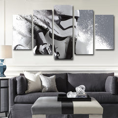 Imperial Stormtrooper 5 Piece Canvas