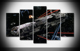 Return Of The Jedi: Millenium Falcon - 5 Piece Canvas Painting-Canvas-TEEPEAT
