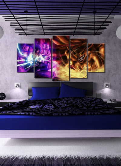 Susano VS 9 Tail Beast 5 Piece Canvas