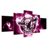 Manly Warringah Sea Eagles Sports Team - 5 Piece Canvas