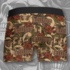 Killjoy Skull and Roses Boxer Briefs