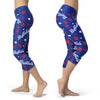 Buffalo Lovin Kisses Football Capris