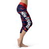 New England Football Camo Capris