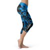 Carolina Flower Football Capris