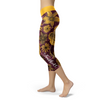 Washington Flower Football Capris