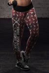 Zombie Apocalypse Response Team Leggings