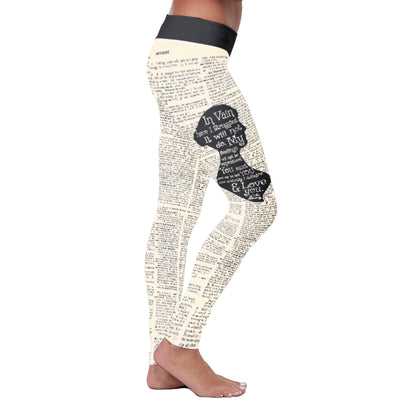 Austen Dictionary Leggings