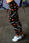 Cincinnati Lovin Kisses Football Leggings