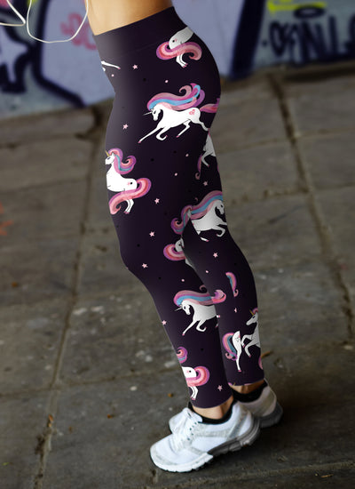 Stars and Unicorns Leggings