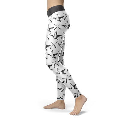 Guns and Ducks Leggings