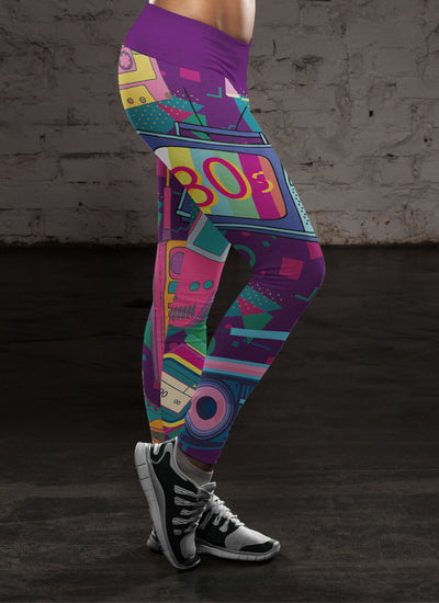80s Retro Leggings