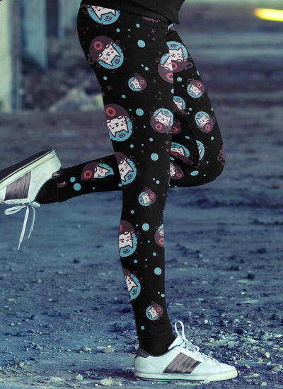 Cat In Space Leggings