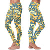 Blue and Orange Native Pattern Leggings