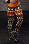 Cleveland Christmas Classic Football Leggings