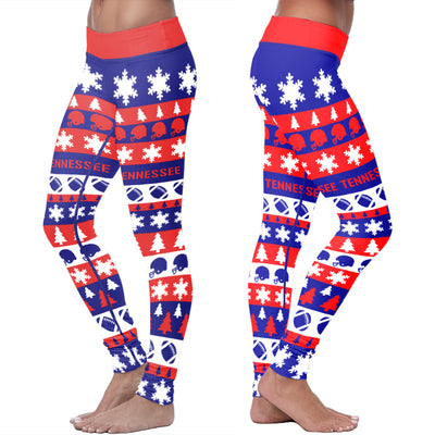Tennessee Christmas Classic Football Leggings
