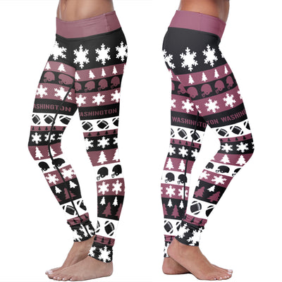 Washington Christmas Classic Football Leggings