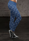 Blue Nurse Leggings