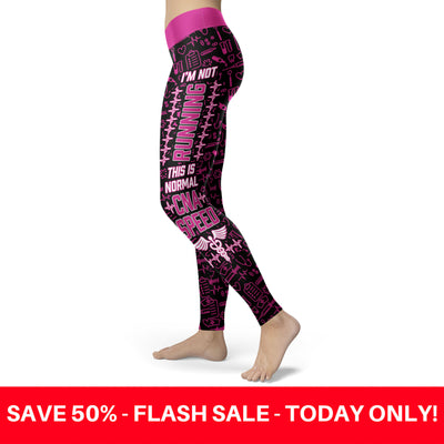 CNA Speed Black Nurse Leggings