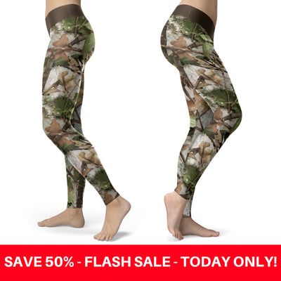 Realistic Camo Leggings