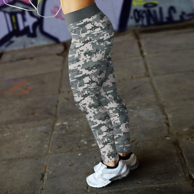 Digital Camo Leggings