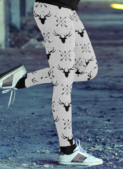 Arrows and Deer Leggings