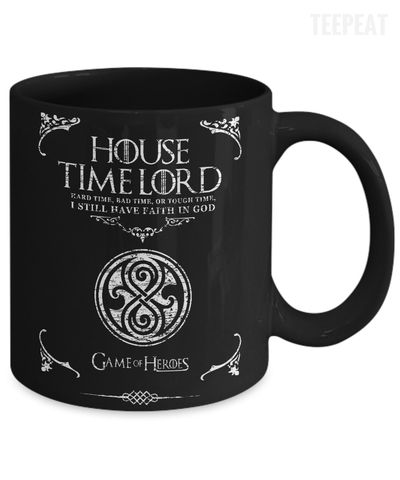 House of Time Lord Mug-Coffee Mug-TEEPEAT