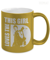 This Girl Loves The D Metallic Mug-Coffee Mug-TEEPEAT