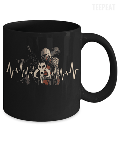 Mandalore Pulse Mug-Coffee Mug-TEEPEAT