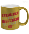 Real Men Are Born In December Metallic Mug