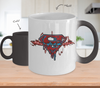 Superman Pulse Color Changing Mug-Coffee Mug-TEEPEAT